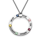 Online Shop for Swarovski Infinity Necklace, SterlingSilver Rollo Chain