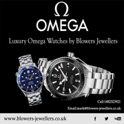 Luxury Omega Watches by Blowers Jewellers