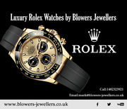 Luxury Rolex Watches by Blowers Jewellers