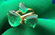 Buy Striking Emerald Stone Jewellery for Gifting Purpose