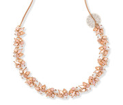 Gold and Druzy Necklace | Gold jewellery manufacturer