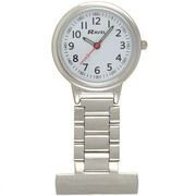 Ravel Nurses Doctors Paramdeic Carers Watch Silver Fob Watch R1101.10