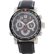 MSF Radio Controlled Men's Analogue Quartz Strap Watch 60003