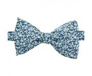 Liberty Pepper Bow Tie Orange Grey