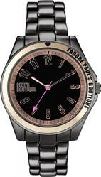 Pauls Boutique Womens Quartz Watch with Black Dial PA001BKTT