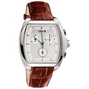D&G DW0428 Gents 'Martin' Brown Strap Chronograph Watch